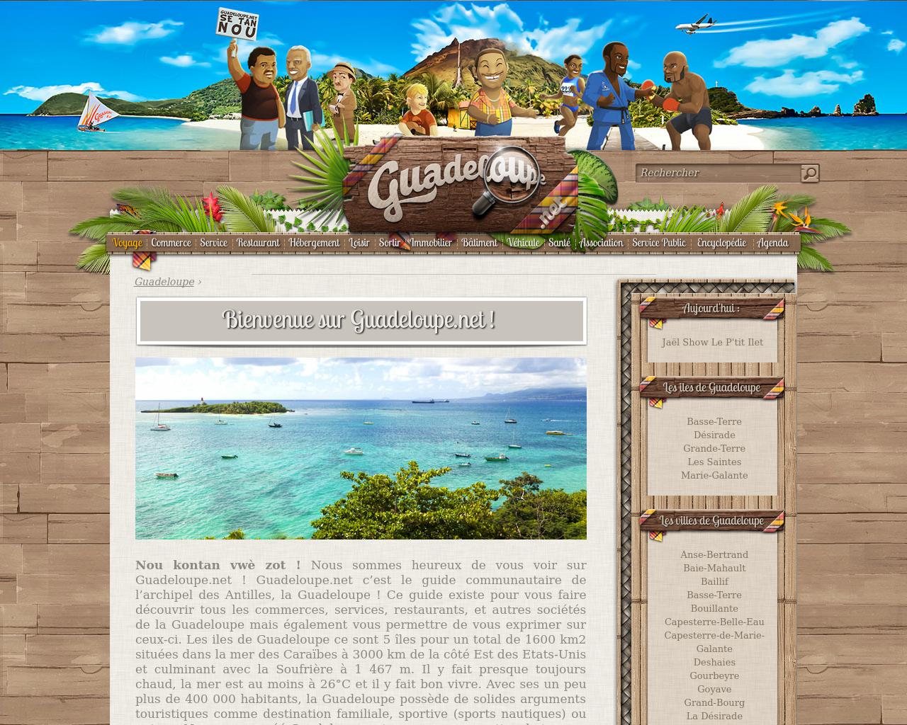 Comment trouver un annuaire sur la Guadeloupe ?