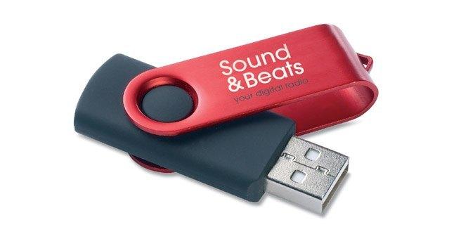 Une clé USB comme objet publicitaire ?